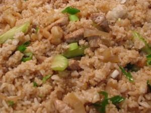 Lumpy rice?