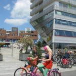 Bikers in Almere