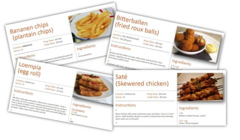 snack recipe ebook