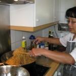 Susan cooks bami
