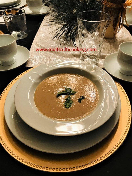 Colombian Garbanzo Soup